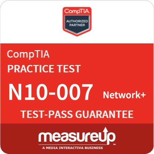 CompTIA Network+ (N10-007) 180-Day Online Practice Test